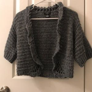 5/$25 Philosophy by Republic PS knitted shrug swtr